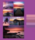Mini album pre 100 fotiek 9x13 Cruise fialový