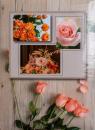 Fotoalbum 10x15 pro 300 fotografií Flower Power 2 - růže