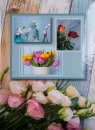 Fotoalbum 10x15 pro 300 fotografií Flower Power 1 - tulipán