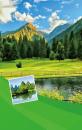 Fotoalbum 10x15 pro 300 fotografií  3UP Vision zelené