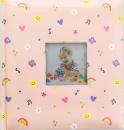 Album pro 200 fotek 10x15 Spacy růžové