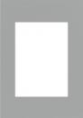 Pasparta 20x30/13x18 šedá granit