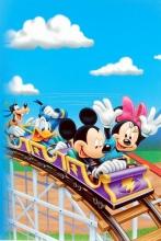 Fotoalbum 10x15 pre 300 fotografií  Disney modrý