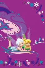 Fotoalbum 10x15 pre 300 fotografií  Disney fialový