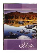 Fotoalbum 10x15 pre 200 fotiek Sunset fialový