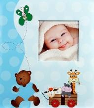 Album detské 60 stran Cheerful modré