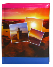 Album pre 200 fotiek 9x13 Bay červené
