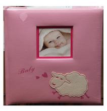 Album detské 60 strán -  baby sheep růžové
