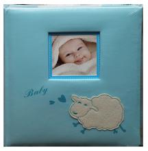 Album detské 60 strán -  baby sheep modré