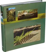Fotoalbum 10x15 pre 500 fotiek Voyager olivový