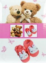 Album pre 200 fotiek 10x15 Bear růžový