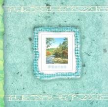 Fotoalbum 10x15 pre 200 fotografií Wild modré