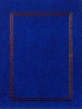 Fotoalbum 10x15 pre 200 fotografií Vinyl modrý