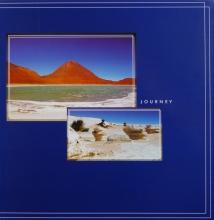 Fotoalbum 10x15 pre 500 fotiek Journey modré
