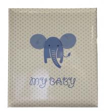 Album detské 60 strán -  baby Elephant  modré
