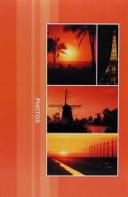 Fotoalbum 9x13 pre 300 fotografií Destination červené