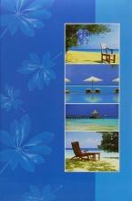 Fotoalbum 10x15 pre 300 fotografií Wayfering modré