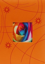 Album pre 300 fotiek 10x15 Colorful oranžové