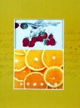 Samolepiace album 20 stráň Fruity žlté