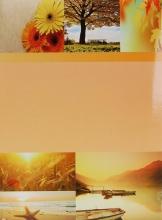 Fotoalbum 10x15 pre 200 fotiek SKY žltý