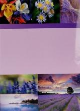 Fotoalbum 10x15 pre 200 fotiek SKY fialový