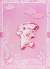 Fotoalbum 10x15 pre 300 fotografií Umbrella ružový
