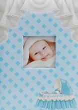 Fotoalbum 10x15 pre 300 fotografií Crib modré