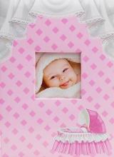 Fotoalbum 10x15 pre 300 fotografií Crib ružové