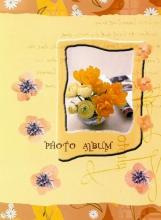 Minialbum 9x13 pre 36 fotiek   Pastel Vase žlutý