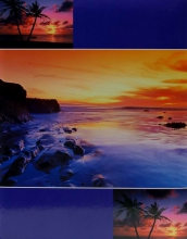 SAMOLEPIACE album 60 strán - Beach modrý
