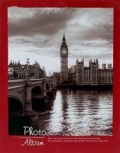 Fotoalbum 10x15 pre 200 fotografií Travel vínový