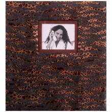 Klasické fotoalbum 60 strán SAFARI tmavé