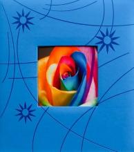 Klasické fotoalbum 60 strán Colorful modré