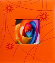 Klasické fotoalbum 60 strán Colorful oranžový