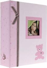 Album detské 10x15 pre 304 fotiek Plush ružové