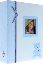 Album detské 10x15 pre 304 fotiek Plush modré