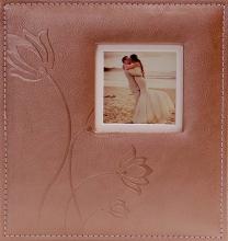 Album pre 200 fotiek 10x15 Flower hnedý