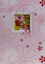 Album pre 200 fotiek 10x15 Pumpkin ružové