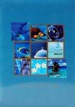 Fotoalbum 10x15 pre 200 fotiek Summer vacat. modré