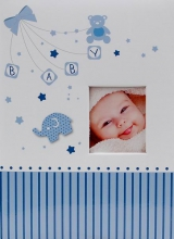 Fotoalbum 10x15 pre 300 fotografií My life modré