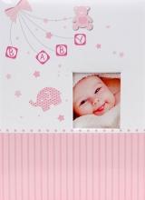 Fotoalbum 10x15 pre 300 fotografií My life ružové