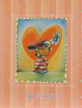 Mini album pre 100 fotiek 10x15 happy Teddy  oranžový