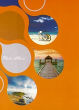 Mini album 10x15 pre 36 fotiek Enjoyment oranžový