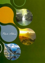 Mini album 10x15 pre 36 fotiek Enjoyment zelený