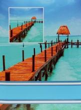Fotoalbum 10x15 pro 300 fotografií Pier modrý