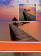Fotoalbum 10x15 pro 300 fotografií Pier oranžový