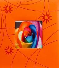 Klasické fotoalbum 100 strán Colorful oranžový