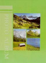 Fotoalbum 9x13 pre 200 fotiek Empire zelený
