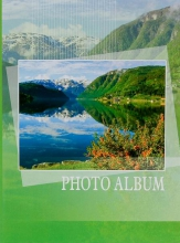 Fotoalbum 9x13 pre 100 fotiek Natural zelený