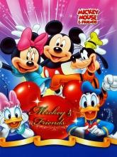Samolepiace album 20 stráň - Disney G